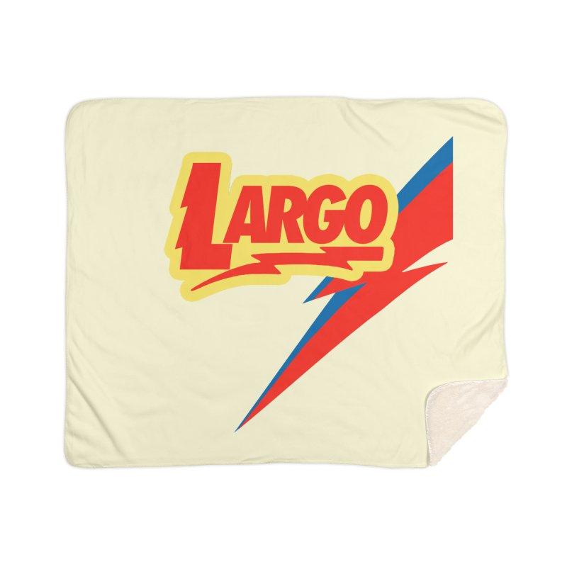 Largo Largo Home Sherpa Blanket Blanket by Mike Hampton's T-Shirt Shop