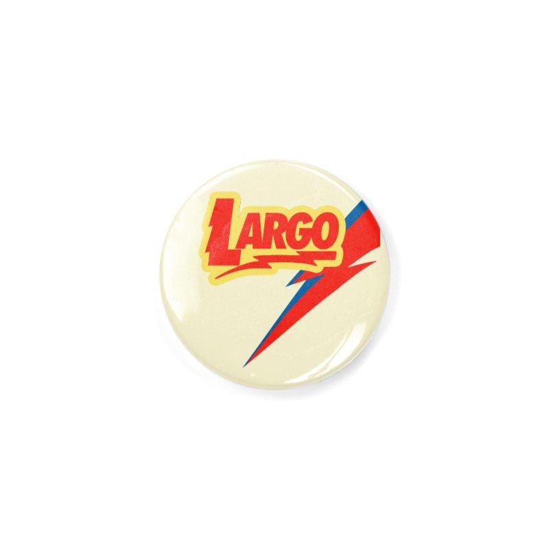 Largo Largo Accessories Button by Mike Hampton's T-Shirt Shop