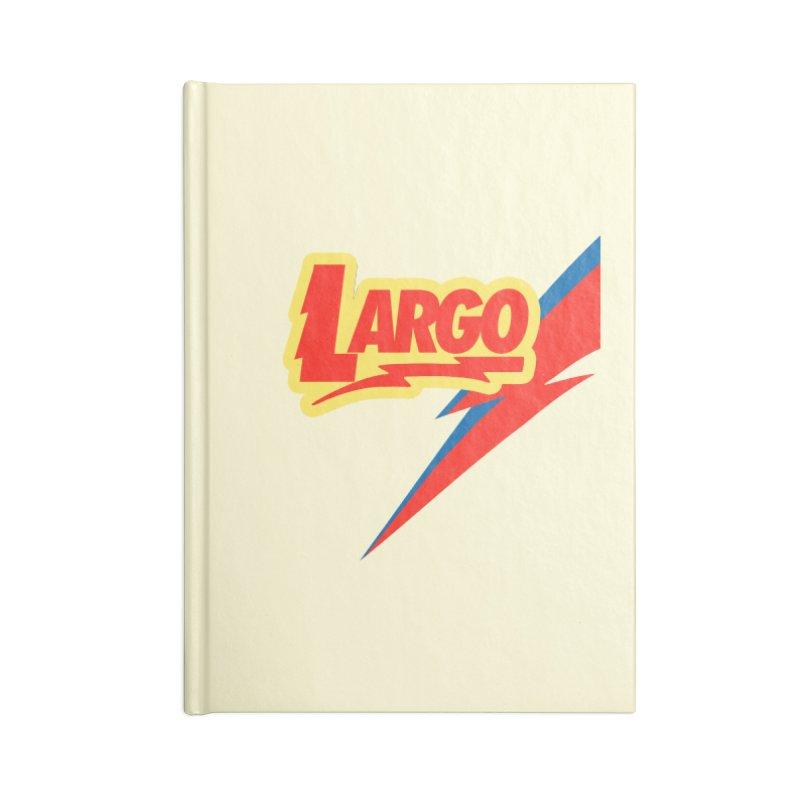 Largo Largo Accessories Blank Journal Notebook by Mike Hampton's T-Shirt Shop