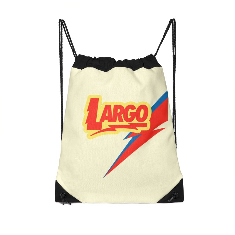 Largo Largo Accessories Drawstring Bag Bag by Mike Hampton's T-Shirt Shop