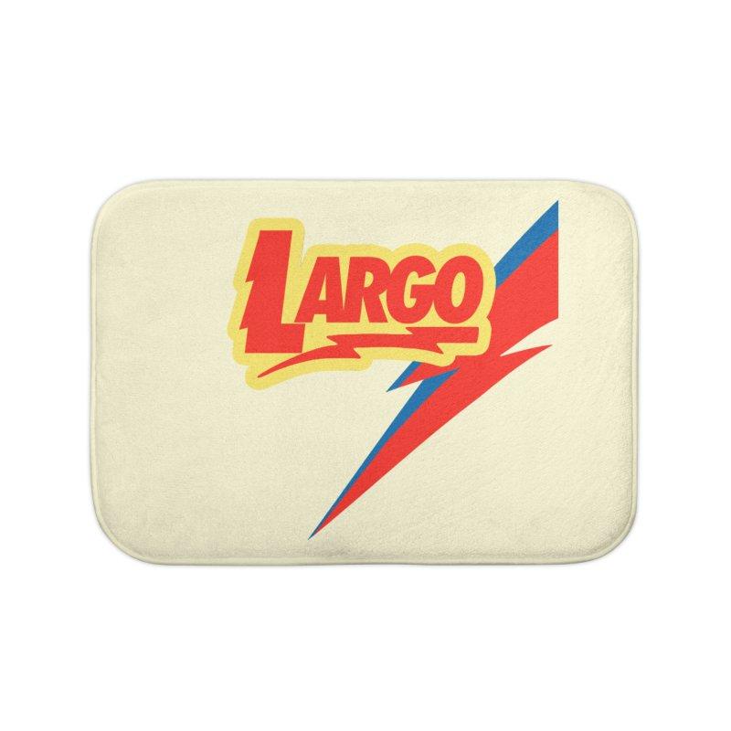Largo Largo Home Bath Mat by Mike Hampton's T-Shirt Shop