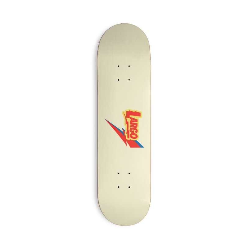 Largo Largo Accessories Deck Only Skateboard by Mike Hampton's T-Shirt Shop