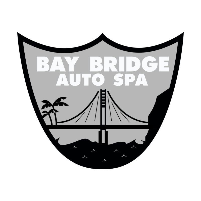 Bay Bridge Auto Spa Kids T-Shirt by Mike Hampton's T-Shirt Shop