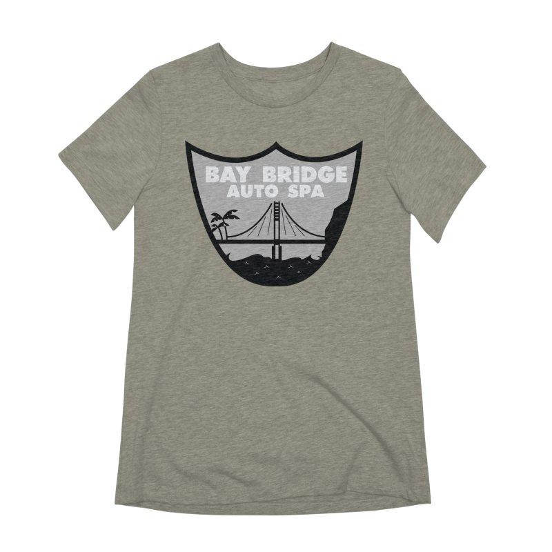 Bay Bridge Auto Spa Women's Extra Soft T-Shirt by Mike Hampton's T-Shirt Shop