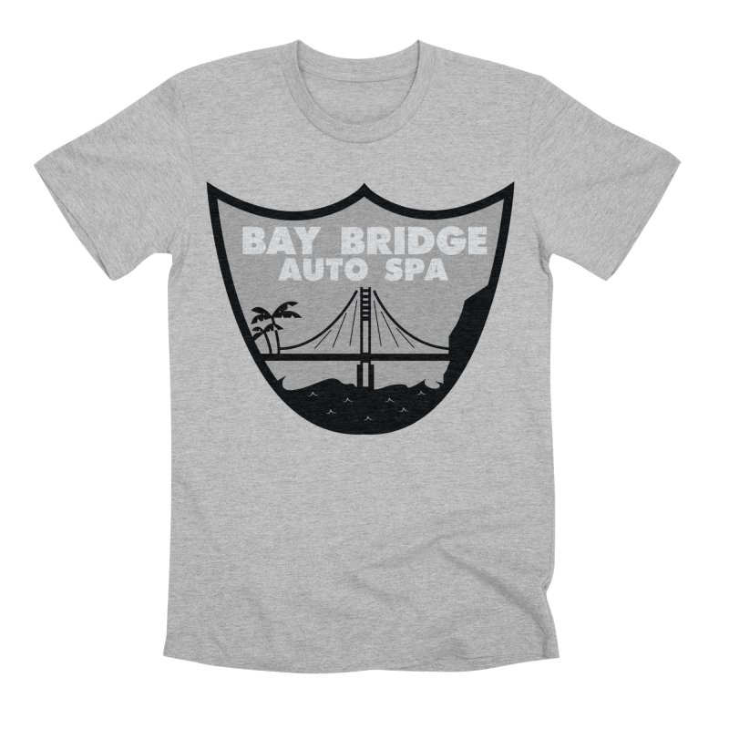 Bay Bridge Auto Spa Men's Premium T-Shirt by Mike Hampton's T-Shirt Shop
