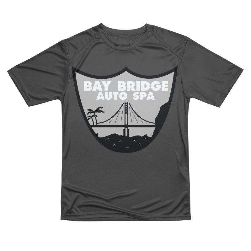 Bay Bridge Auto Spa Men's Performance T-Shirt by Mike Hampton's T-Shirt Shop