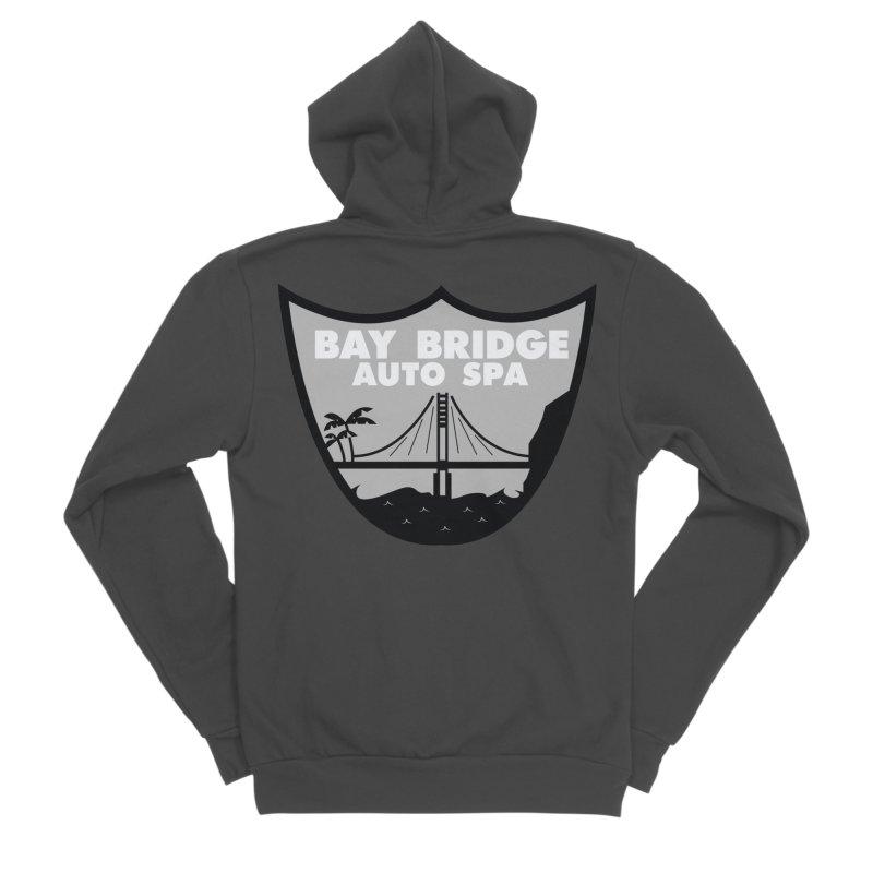 Bay Bridge Auto Spa Men's Sponge Fleece Zip-Up Hoody by Mike Hampton's T-Shirt Shop