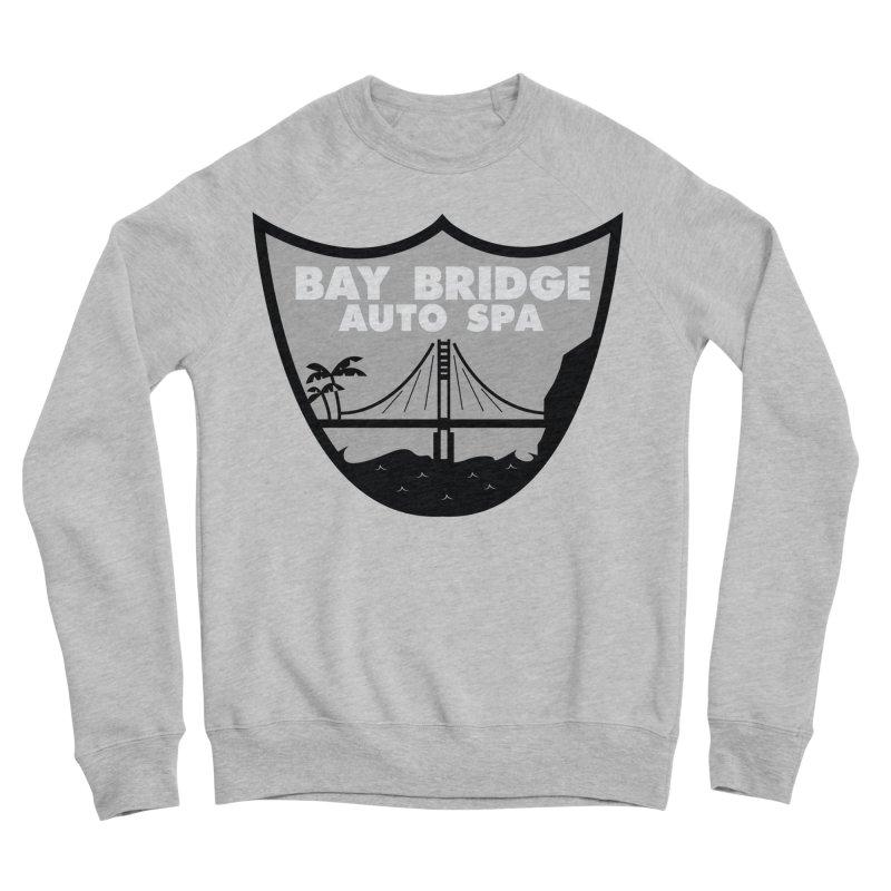 Bay Bridge Auto Spa Men's Sponge Fleece Sweatshirt by Mike Hampton's T-Shirt Shop