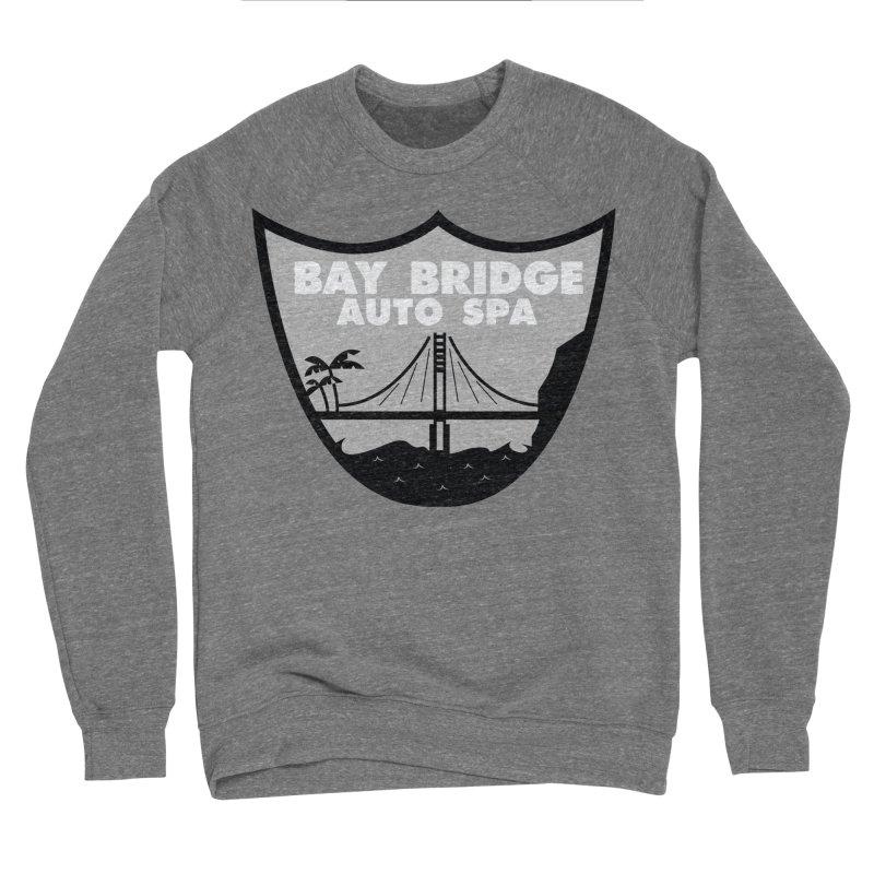 Bay Bridge Auto Spa Women's Sponge Fleece Sweatshirt by Mike Hampton's T-Shirt Shop