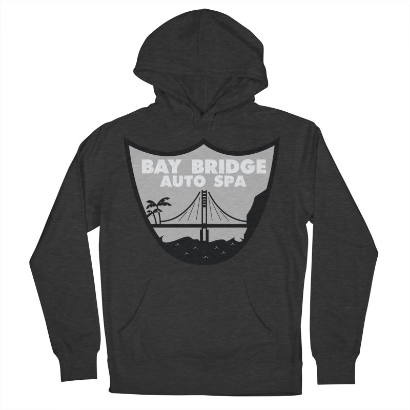 Bay Bridge Auto Spa Men's French Terry Pullover Hoody by Mike Hampton's T-Shirt Shop