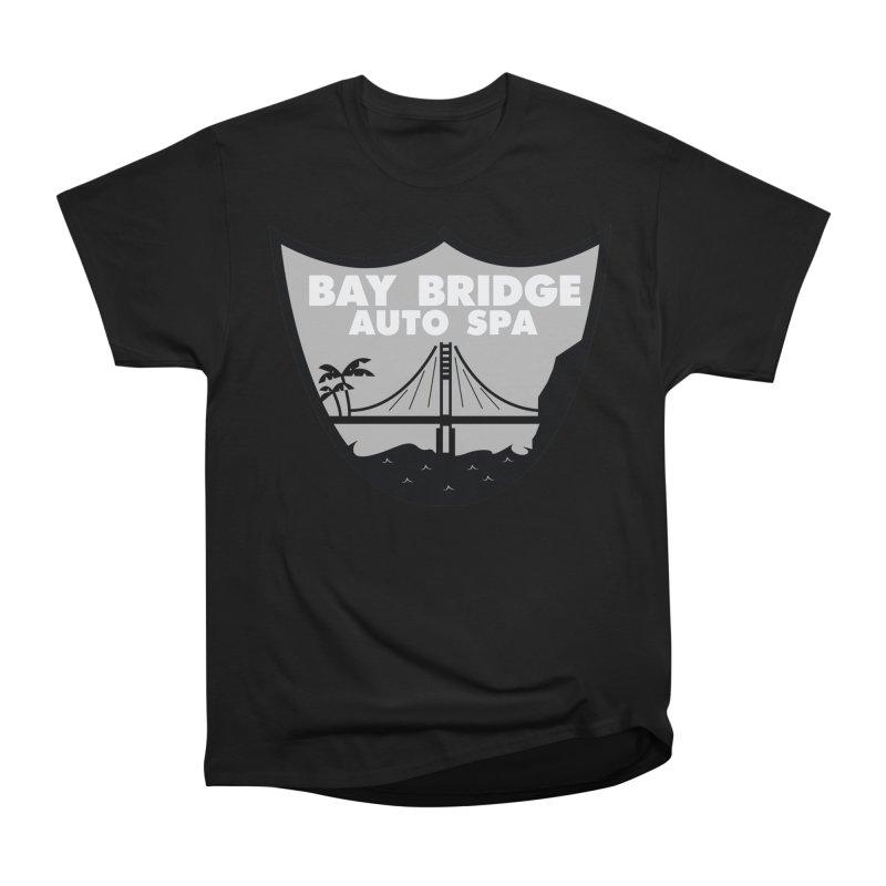 Bay Bridge Auto Spa Women's Heavyweight Unisex T-Shirt by Mike Hampton's T-Shirt Shop