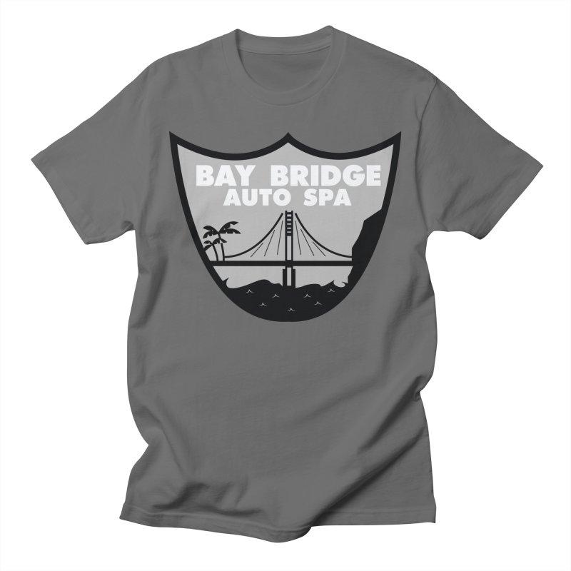 Bay Bridge Auto Spa Men's T-Shirt by Mike Hampton's T-Shirt Shop