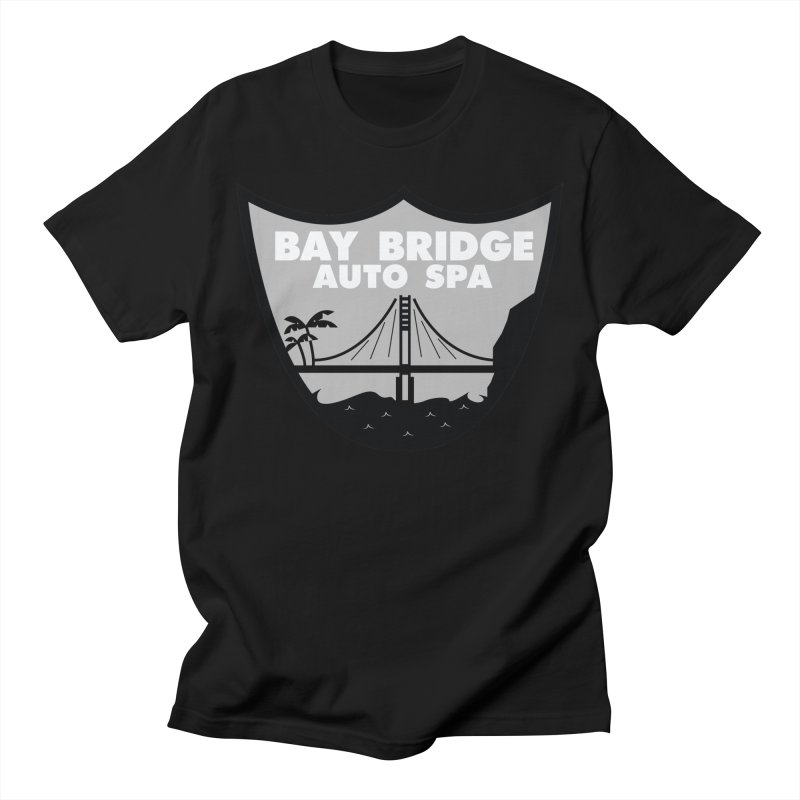 Bay Bridge Auto Spa Men's Regular T-Shirt by Mike Hampton's T-Shirt Shop