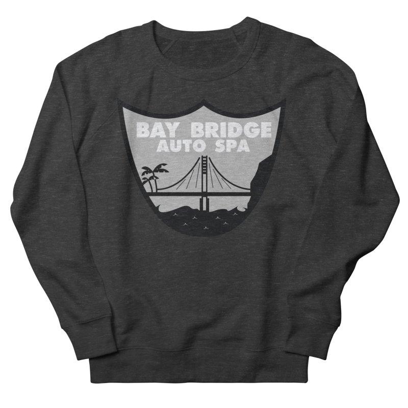 Bay Bridge Auto Spa Men's French Terry Sweatshirt by Mike Hampton's T-Shirt Shop