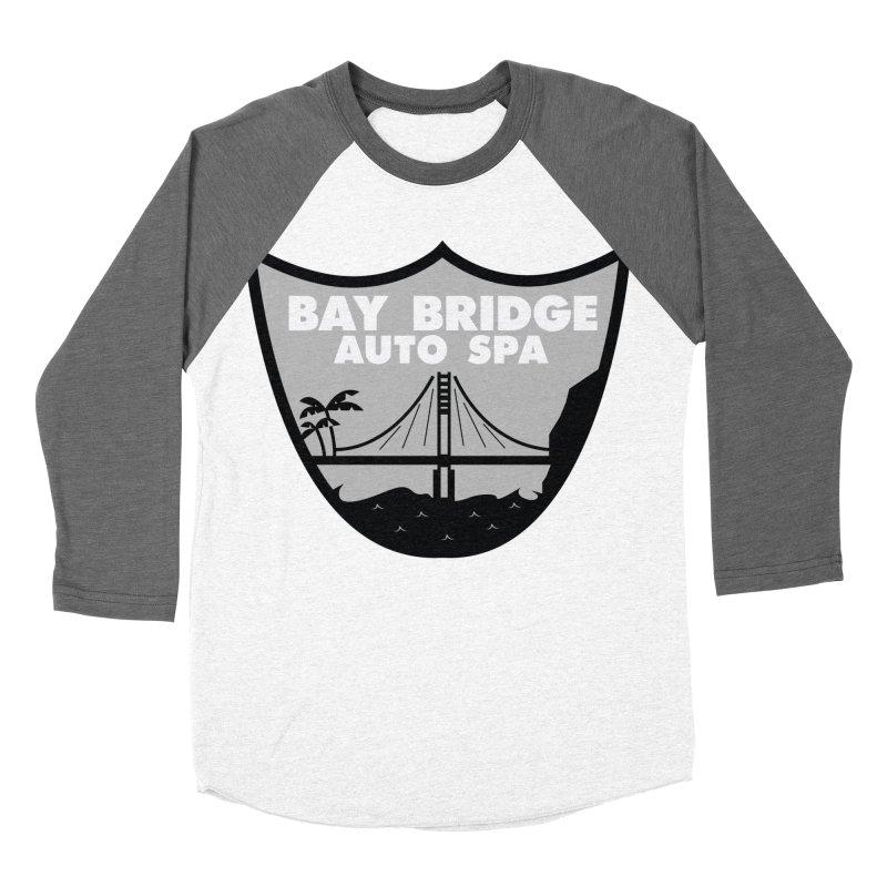 Bay Bridge Auto Spa Men's Baseball Triblend Longsleeve T-Shirt by Mike Hampton's T-Shirt Shop