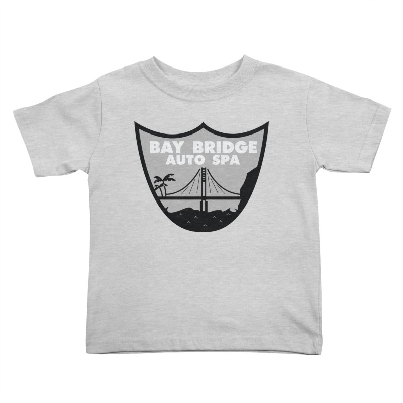 Bay Bridge Auto Spa Kids Toddler T-Shirt by Mike Hampton's T-Shirt Shop