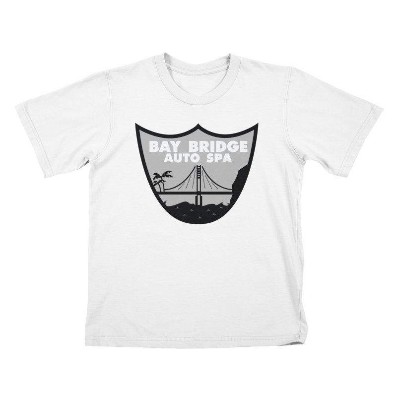 Bay Bridge Auto Spa Kids T-Shirt by Mike Hampton's T-Shirt Shop