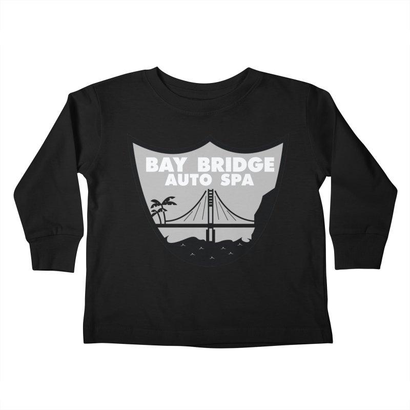 Bay Bridge Auto Spa Kids Toddler Longsleeve T-Shirt by Mike Hampton's T-Shirt Shop