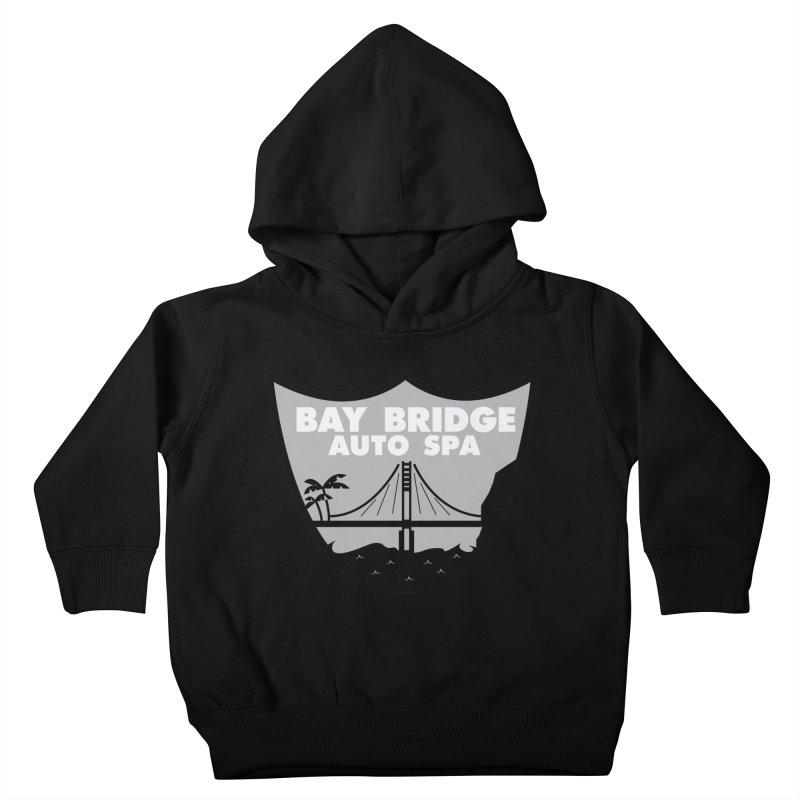 Bay Bridge Auto Spa Kids Toddler Pullover Hoody by Mike Hampton's T-Shirt Shop