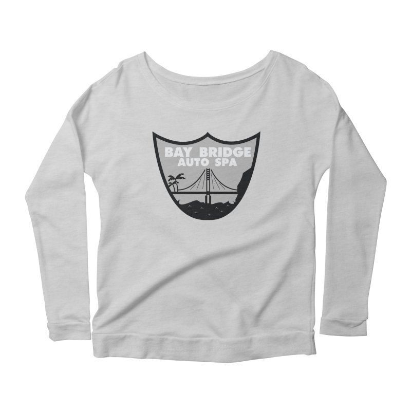 Bay Bridge Auto Spa Women's Scoop Neck Longsleeve T-Shirt by Mike Hampton's T-Shirt Shop