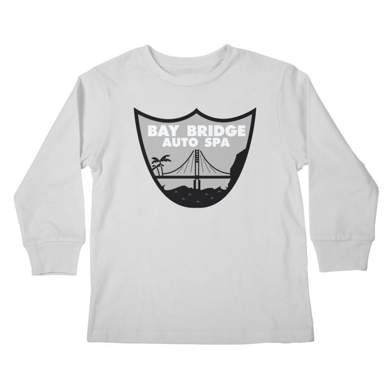 Bay Bridge Auto Spa Kids Longsleeve T-Shirt by Mike Hampton's T-Shirt Shop