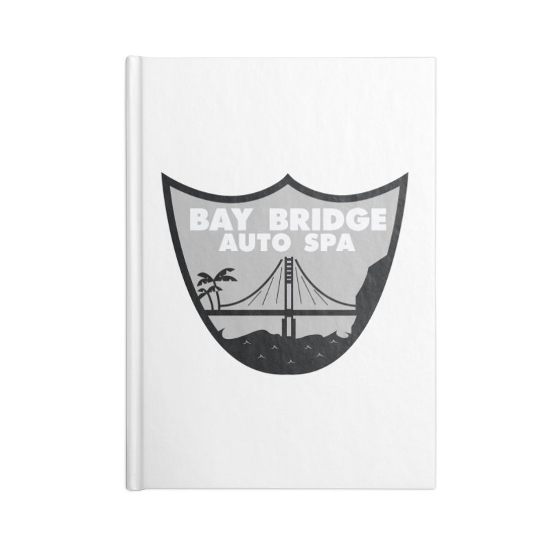 Bay Bridge Auto Spa Accessories Lined Journal Notebook by Mike Hampton's T-Shirt Shop