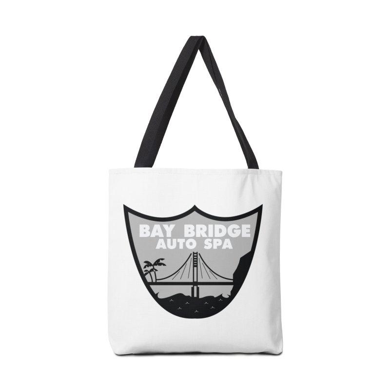 Bay Bridge Auto Spa Accessories Tote Bag Bag by Mike Hampton's T-Shirt Shop