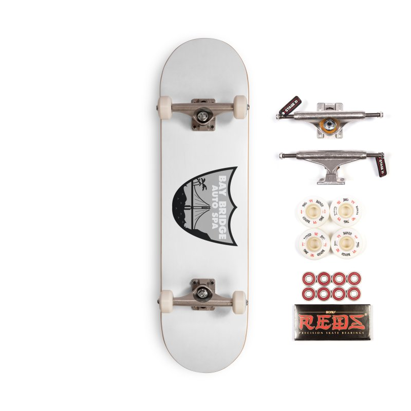 Bay Bridge Auto Spa Accessories Complete - Pro Skateboard by Mike Hampton's T-Shirt Shop