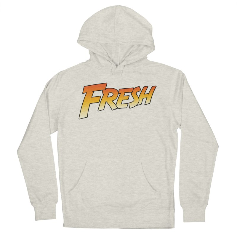FRESH! Women's French Terry Pullover Hoody by Mike Hampton's T-Shirt Shop