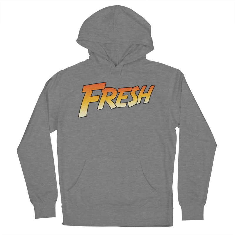 FRESH! Men's French Terry Pullover Hoody by Mike Hampton's T-Shirt Shop