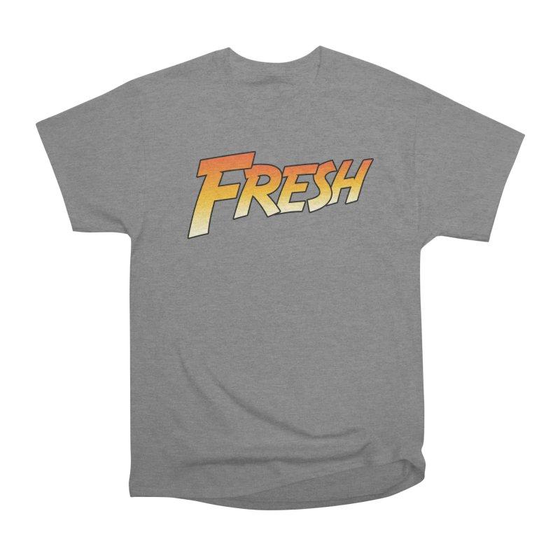 FRESH! Women's Heavyweight Unisex T-Shirt by Mike Hampton's T-Shirt Shop