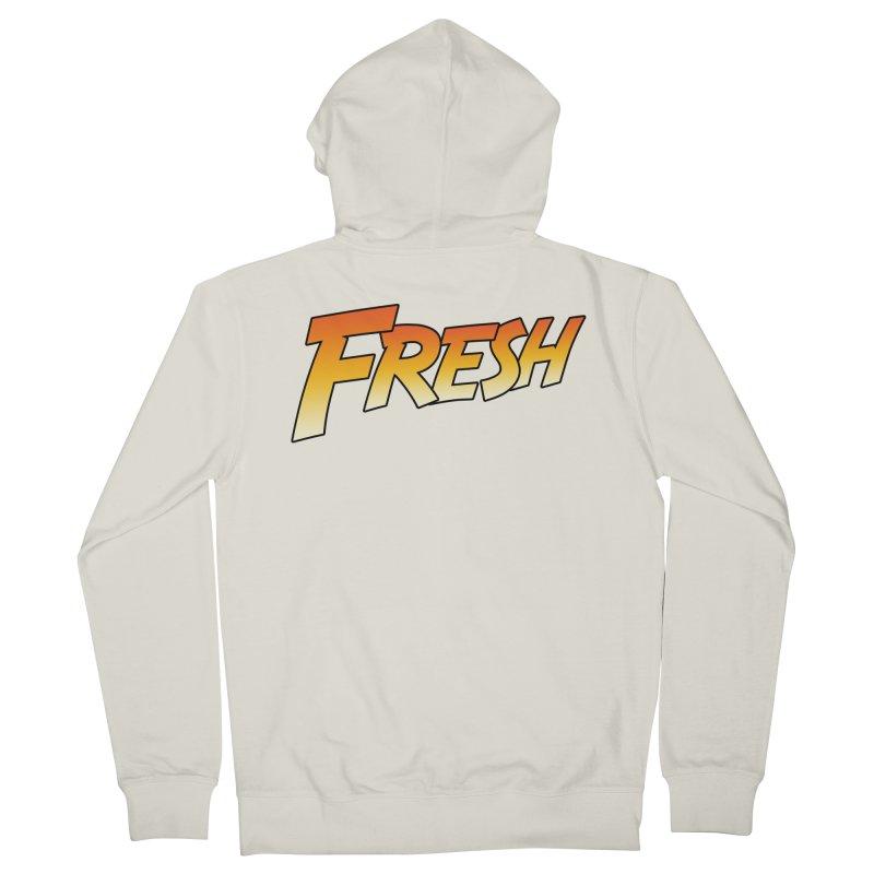 FRESH! Women's French Terry Zip-Up Hoody by Mike Hampton's T-Shirt Shop