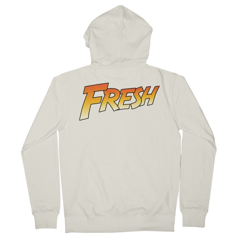 FRESH! Men's French Terry Zip-Up Hoody by Mike Hampton's T-Shirt Shop