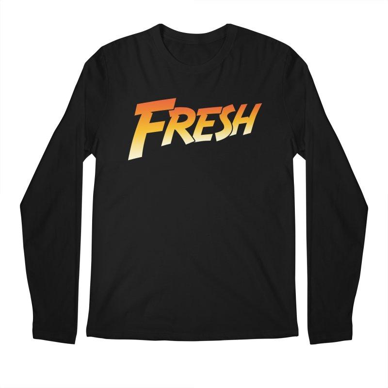 FRESH! Men's Regular Longsleeve T-Shirt by Mike Hampton's T-Shirt Shop