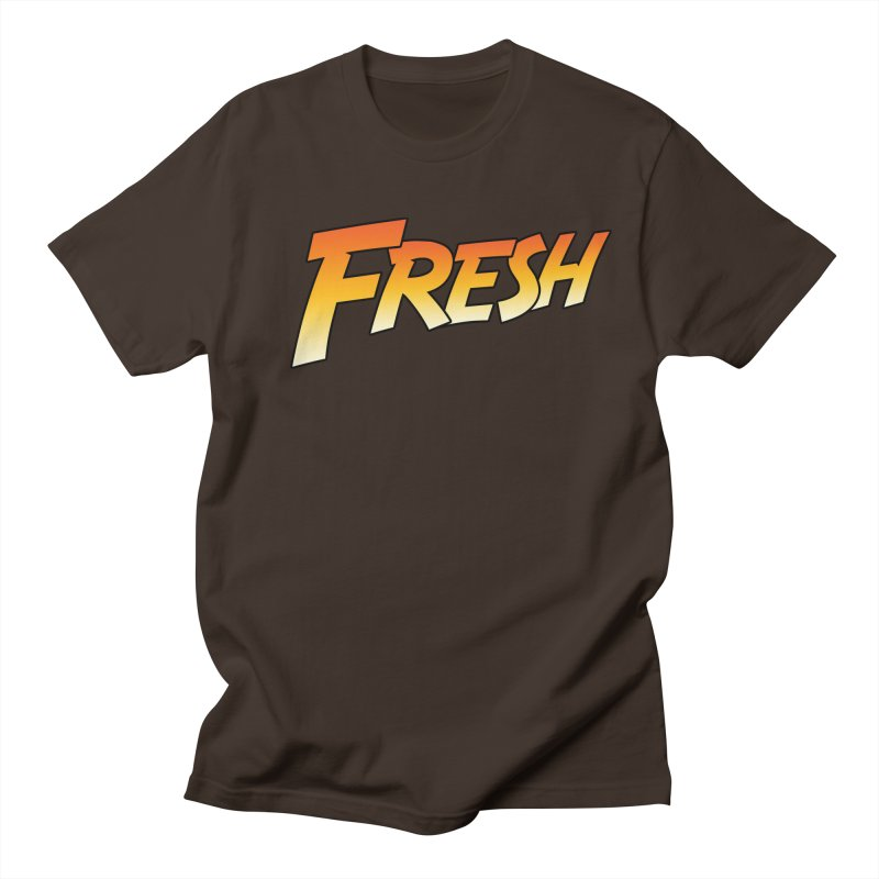 FRESH! Men's Regular T-Shirt by Mike Hampton's T-Shirt Shop
