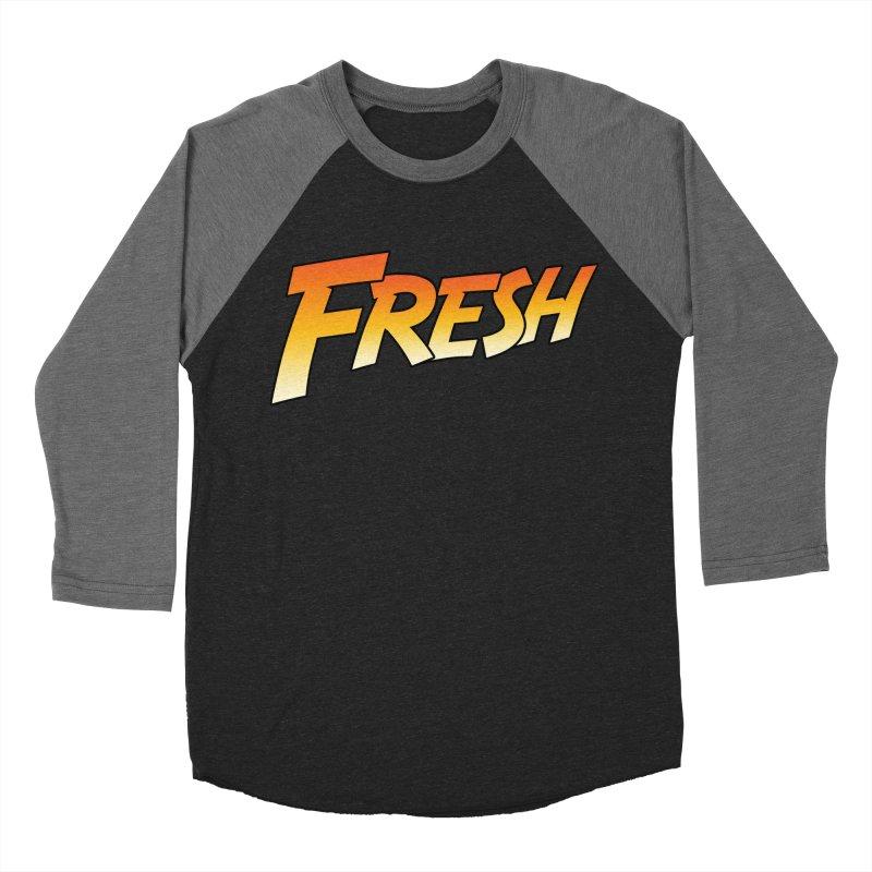 FRESH! Women's Baseball Triblend Longsleeve T-Shirt by Mike Hampton's T-Shirt Shop