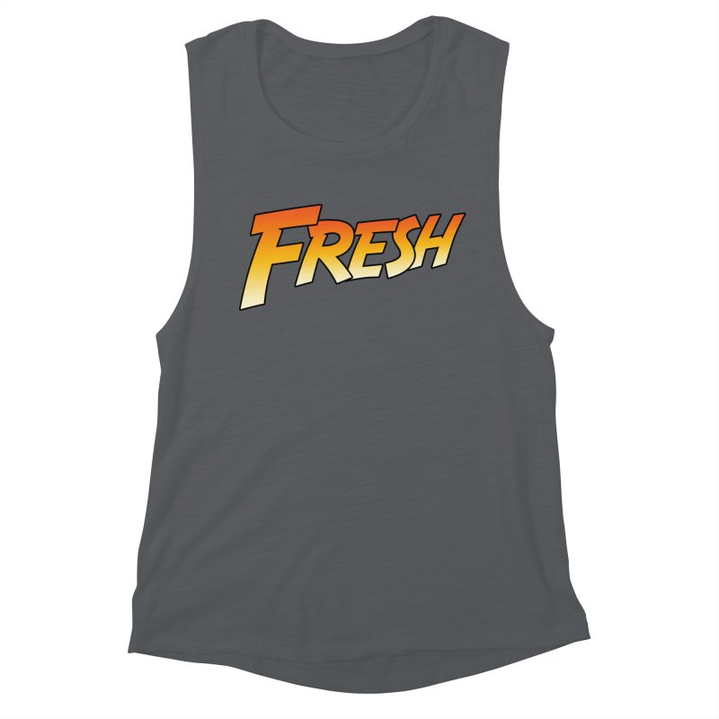 FRESH! Women's Muscle Tank by Mike Hampton's T-Shirt Shop