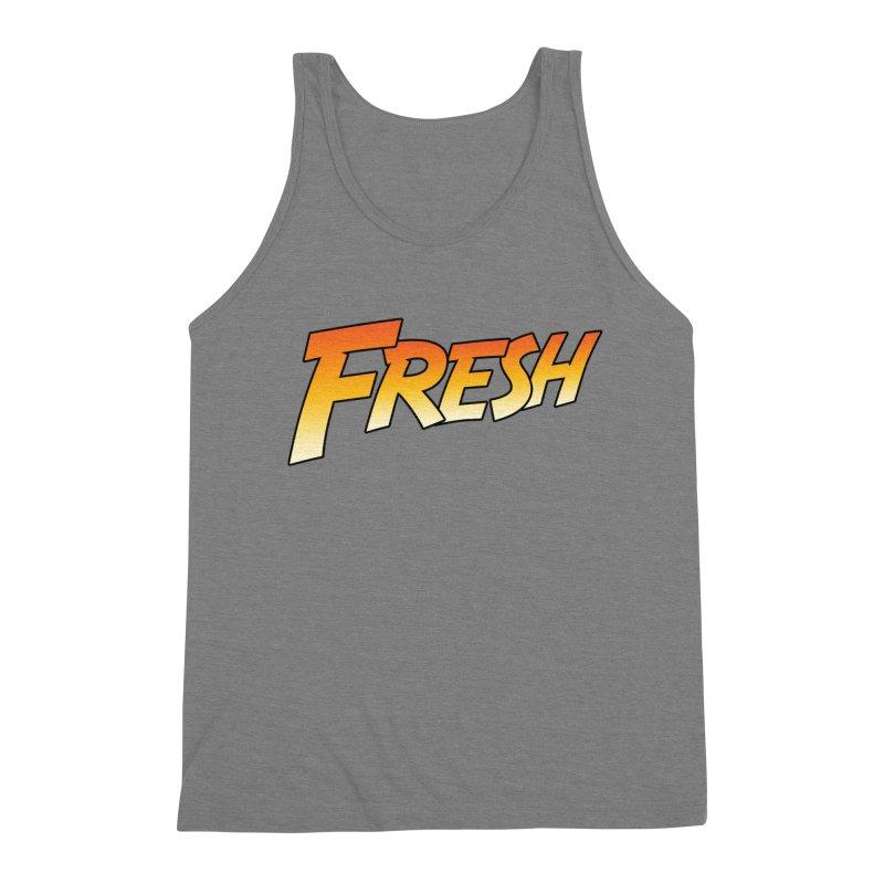 FRESH! Men's Triblend Tank by Mike Hampton's T-Shirt Shop