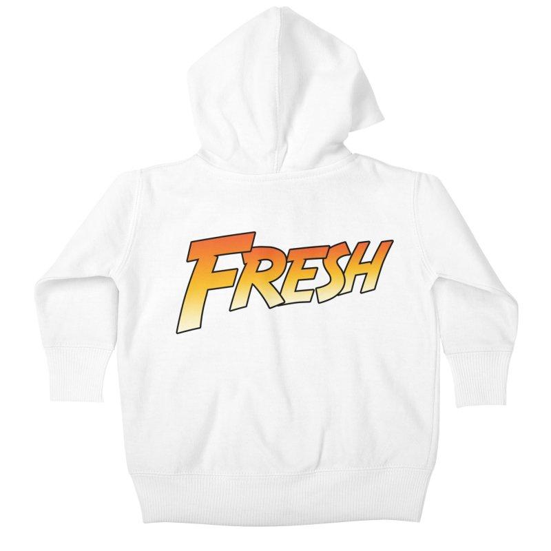 FRESH! Kids Baby Zip-Up Hoody by Mike Hampton's T-Shirt Shop