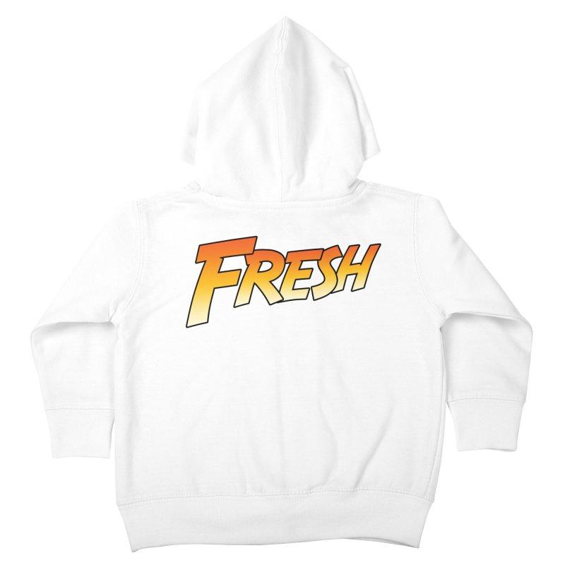 FRESH! Kids Toddler Zip-Up Hoody by Mike Hampton's T-Shirt Shop