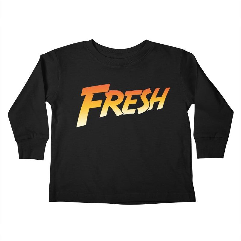 FRESH! Kids Toddler Longsleeve T-Shirt by Mike Hampton's T-Shirt Shop