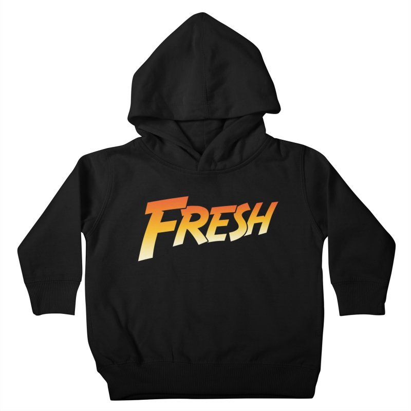 FRESH! Kids Toddler Pullover Hoody by Mike Hampton's T-Shirt Shop