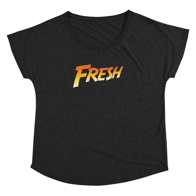 FRESH! Women's Dolman Scoop Neck by Mike Hampton's T-Shirt Shop