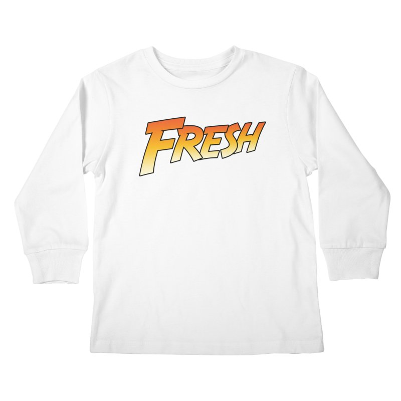 FRESH! Kids Longsleeve T-Shirt by Mike Hampton's T-Shirt Shop
