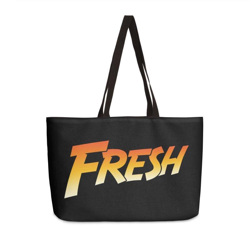 FRESH! Accessories Weekender Bag Bag by Mike Hampton's T-Shirt Shop