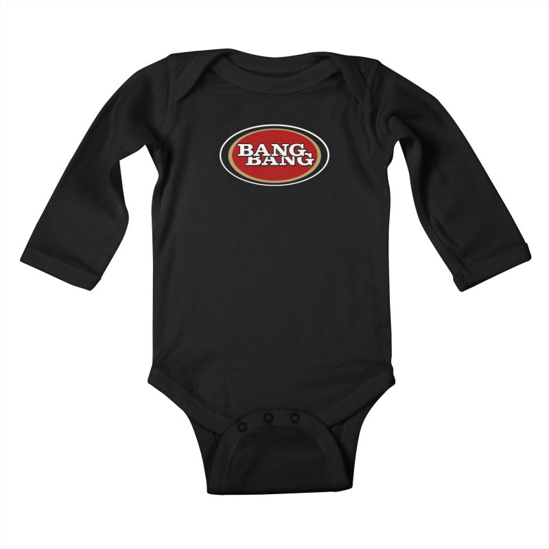 Niner Gang Kids Baby Longsleeve Bodysuit by Mike Hampton's T-Shirt Shop