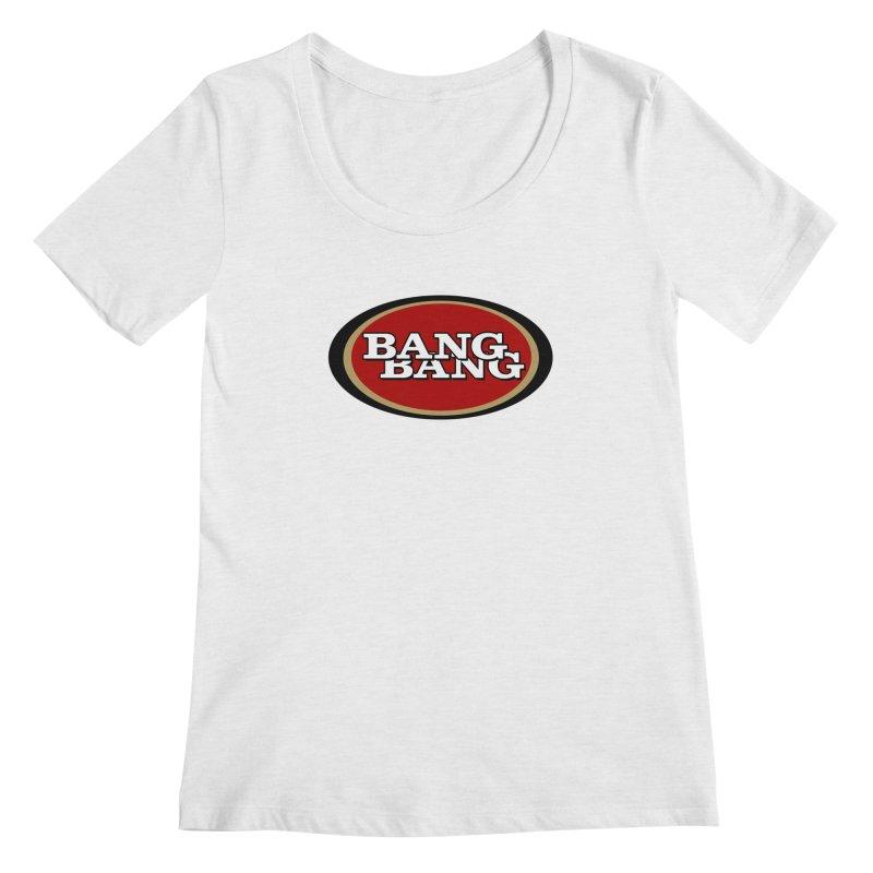 Niner Gang Women's Regular Scoop Neck by Mike Hampton's T-Shirt Shop