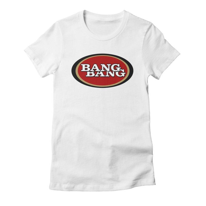 Niner Gang Women's Fitted T-Shirt by Mike Hampton's T-Shirt Shop