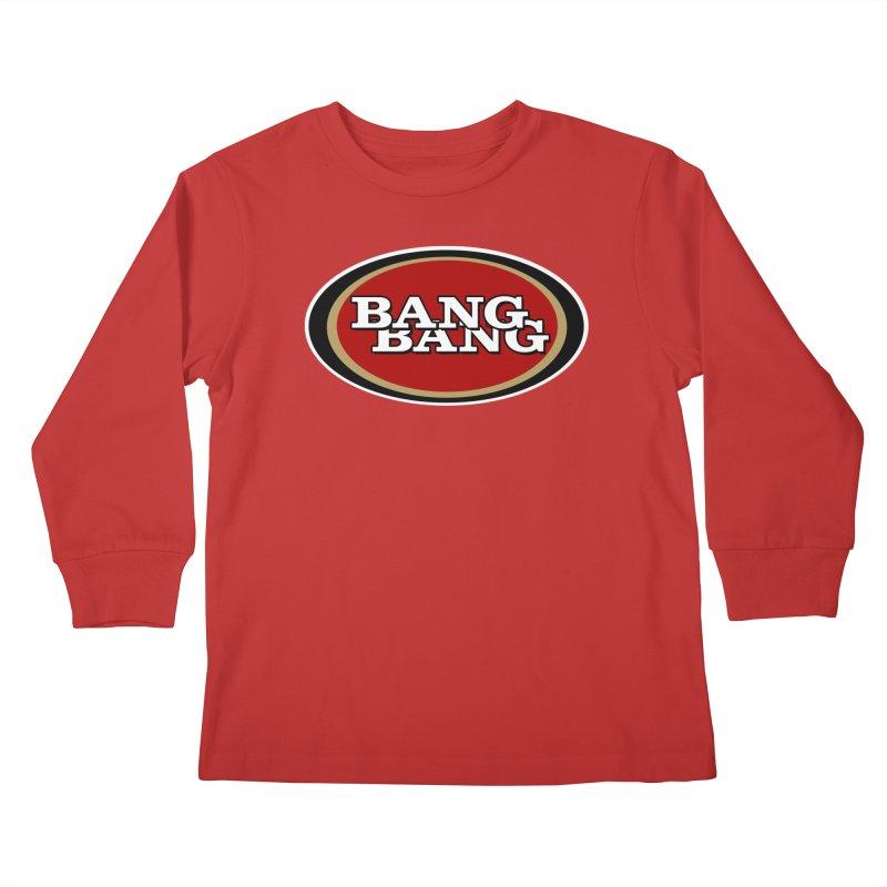 Niner Gang Kids Longsleeve T-Shirt by Mike Hampton's T-Shirt Shop