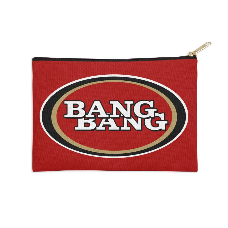 Niner Gang Accessories Zip Pouch by Mike Hampton's T-Shirt Shop